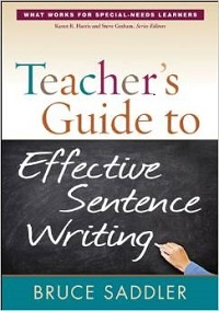Effective Sentence Writing Book Cover